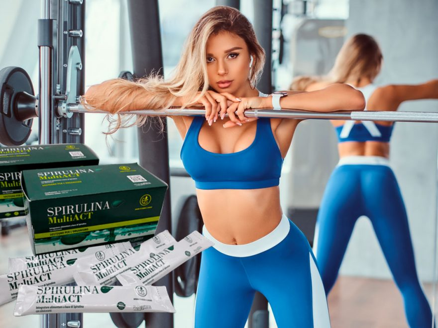 spirulina multi act integratore